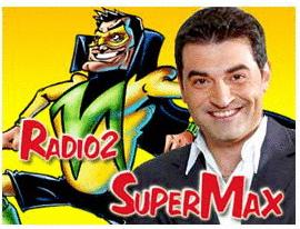 RADIO2: DOMANI CONCATO E VALSECCHI A SUPERMAX