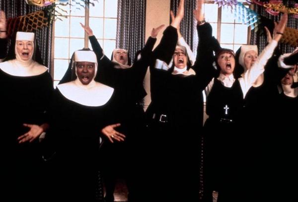 """Ascolti Tv: """"Sister Act"""" 15,21%, """"Lo show dei record"""" al 12,79%, """"Le 5 leggende"""" 8%"""
