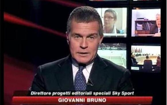 GIOVANNI BRUNO ALLA GUIDA DI SKY SPORT, FABIO CARESSA A SKY SPORT24