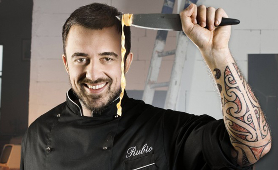 Chef Rubio: La tv non mi ha cambiato la vita. Sono sempre lo stesso, solo con qualche stress in più