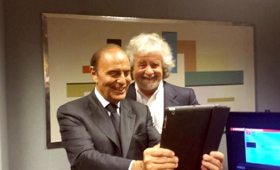 Il Movimento 5 Stelle contro Bruno Vespa: niente campagna elettorale