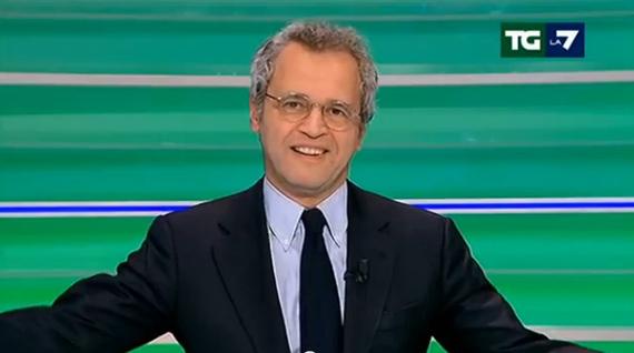 """Enrico Mentana: """"Gran duello da servizio pubblico mi aspettavo questo share"""""""