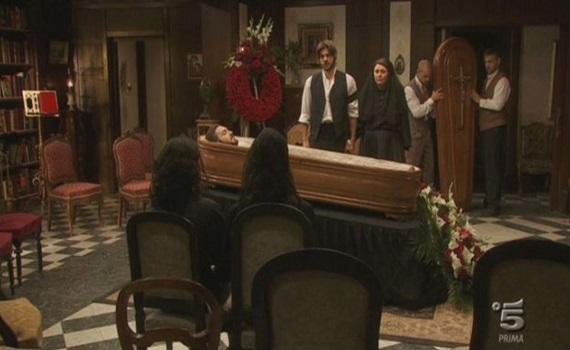 """Ascolti Tv: con il matrimonio e il funerale di Tristan """"Il Segreto"""" acchiappa """"Montalbano"""". Del Debbio mette sotto anche Barra e Paragone"""
