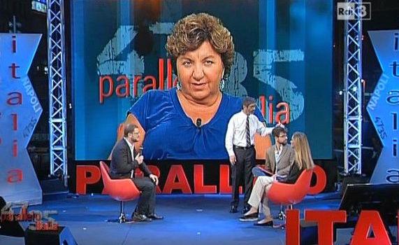 """Andrea Vianello: """"La puntata di 'Parallelo Italia' ieri è stata difficile, alla polizia sono sfuggiti dimostranti pronti a salire sul palco"""""""