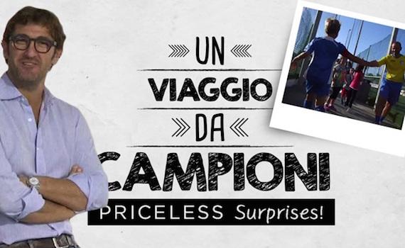 """""""Un viaggio da campioni"""": il nuovo branded content di Mediaset per Mastercard"""