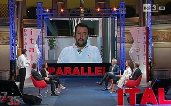 Ascolti Tv: Renzi, Salvini, Landini, Giannini non salvano Riotta dal disastro finale. Garko piace ancora