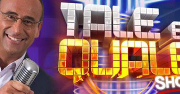 Ascolti Tv 1 dicembre, vince Tale e quale show con il 22,99%
