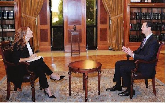 """Maggioni intervista Assad e Anzaldi si lamenta. Ma Renzi non aveva detto di voler """"ripulire"""" la Rai dalla politica?"""