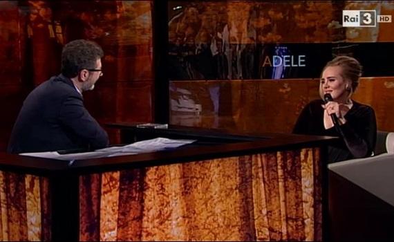 Ascolti Tv: Adele accende Fazio, ma non come Madonna. Con Belèn, la Lollo, Conte e la Venier, Costanzo finisce bene