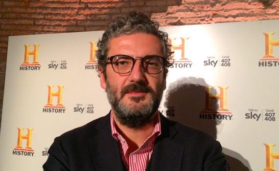 """Video – Luca Revelli di Sky: """"Per la nostra piattaforma History Channel è molto importante"""""""