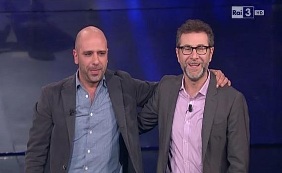 Ascolti Tv: Fazio 4,5 milioni con Zalone e 4,7 con Littizzetto. Insinna 20% con Montezemolo, che accetta 50 milioni dalla dottoressa