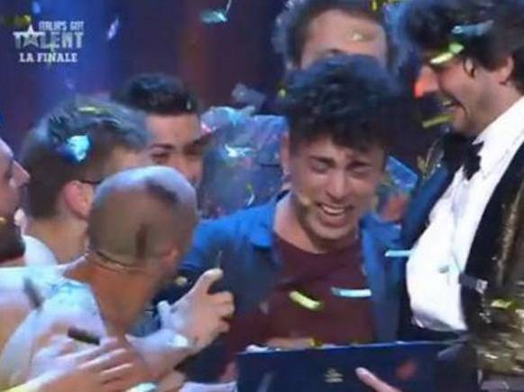 "Moses conquista ""Italia' s Got Talent"""