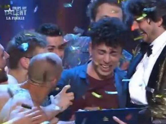 """Moses conquista """"Italia' s Got Talent"""""""