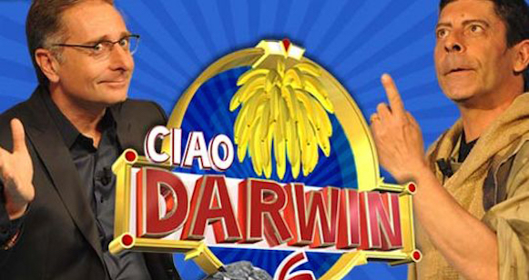 Ascolti Tv venerdì 12 aprile vince Ciao Darwin