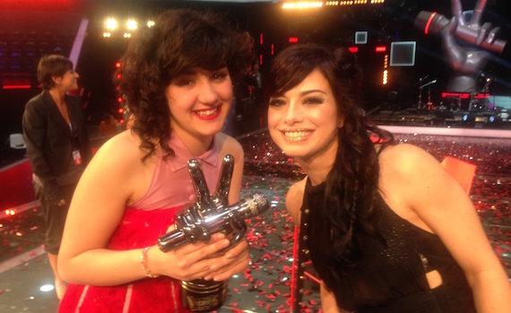 Video – Dolcenera e Alice Paba commentano la vittoria The Voice 4