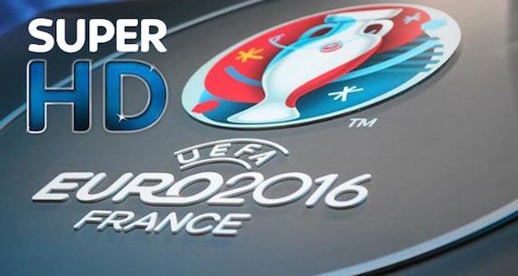 Euro2016, a Sky arriva il Super HD