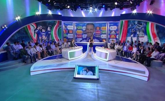 Ascolti Tv 13 giugno digital e pay: Italia-Belgio su Sky 9,3%, D'Amico 7%, Bonan 3,5%