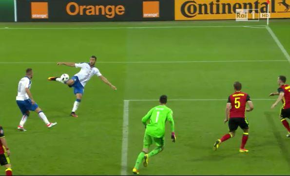 Ascolti Tv analisi 13 giugno: il gol di Pellè fa il 72%, il 10,3% su Sky