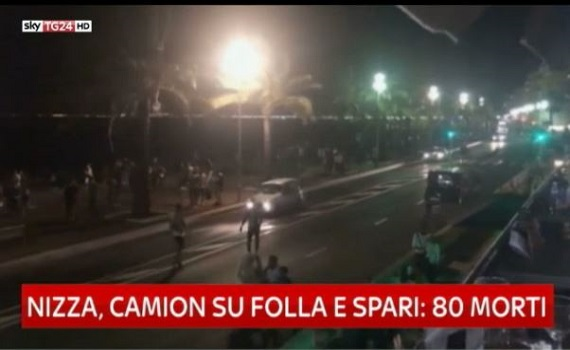 Sotto attacco: su Nove gli attentati terroristici di Nizza, Berlino e Barcellona