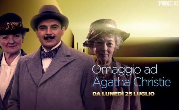 Il caso ben congegnato del temporary channel Fox Crime Agatha Christie