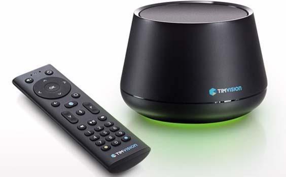 TimVision lancia il nuovo decoder e va in trincea