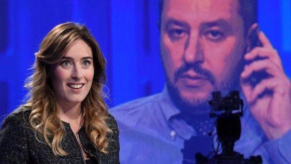 Boschi-Salvini, lite in tv sul referendum