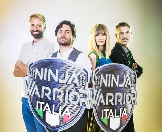 Su Nove arriva Ninja Warrior: quattro conduttori per raccontare prove fisiche estreme
