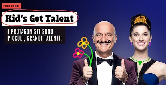 Al via le registrazioni di Kid's Got Talent