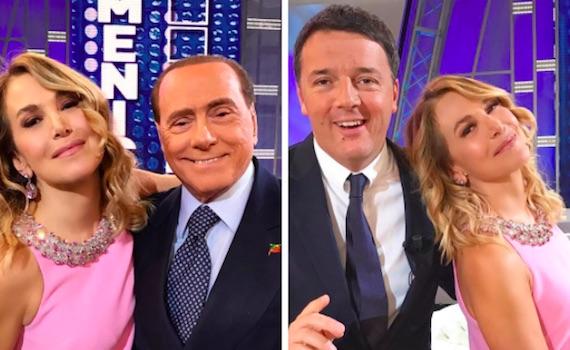 Berlusconi-Renzi: il nonno e il boyscout nella domenica pomeriggio di casa D'Urso