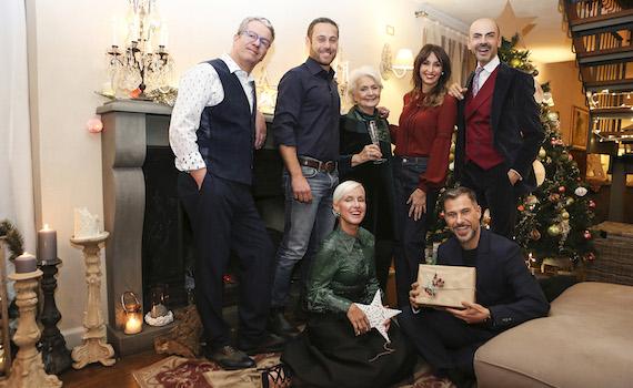 Tutti i talent di real time festeggiano il natale in casa for A casa con benedetta