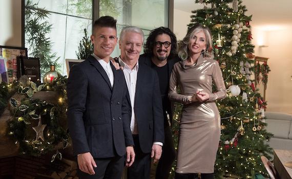 Su Cielo questa sera Un Natale per 4 con Borghese, Massari, Vanzan e Paola Marella
