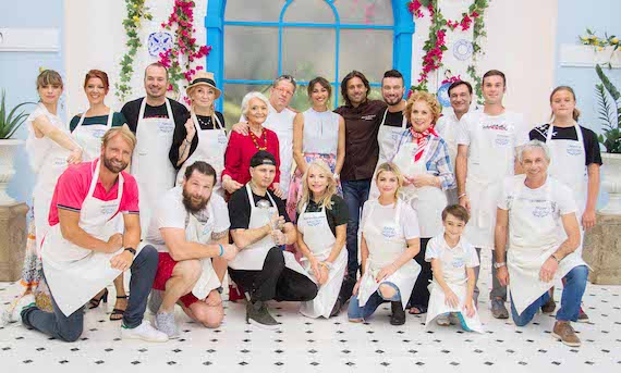 Bake Off Italia – Celebrity Edition con Emma Marrone, Fabio Caressa, Maria Giovanna Elmi