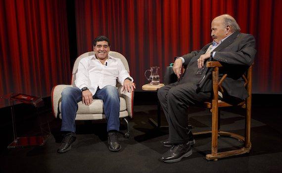 Riparte L'Intervista di Maurizio Costanzo con Maradona