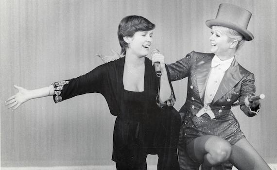 Questa sera Bright Lights: la vita privata di Carrie Fisher e Debbie Reynolds