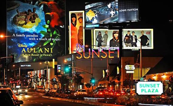 Il Sunset Boulevard di Hollywood questa sera in tv su Sky Arte HD