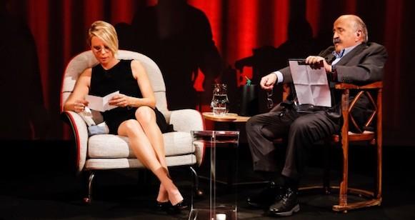 Maurizio Costanzo: «Si, ho fatto commuovere Maria. Lei non è una dura, l'avete visto»
