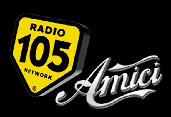 Radio 105 è radio partner di Amici