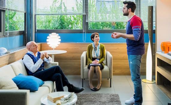 Claudio Bisio e Frank Matano insieme nella nuova serie tv di Sky