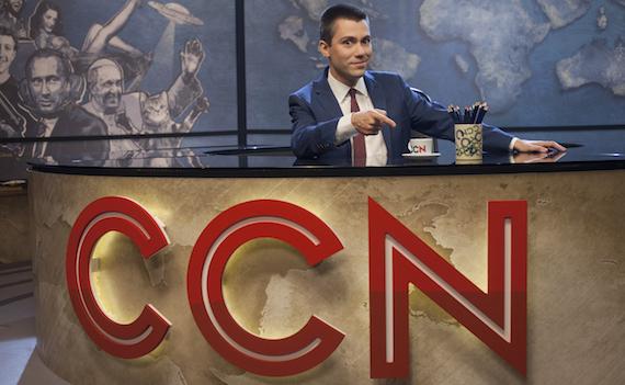 Ritorna stasera Comedy Central News, Saverio Raimondo nel vortice delle news