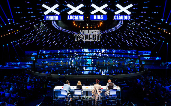La seconda semifinale di Italia's Got Talent con Fabio Fazio e Pupo