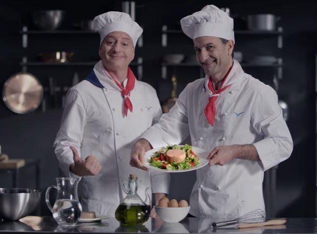 Spot Tv: la pubblicità del Tonno Mare Aperto che prende in giro gli chef