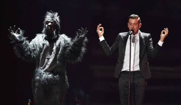 Video – Francesco Gabbani: Stimo molto Manuel Agnelli