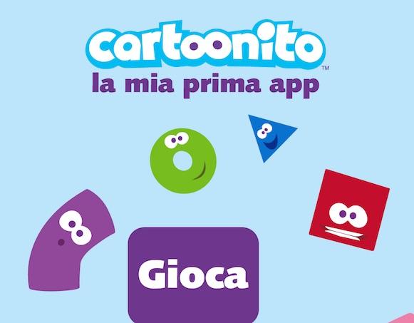 Un'intera sezione dedicata ai giochi: Cartoonito App è ricca di novità