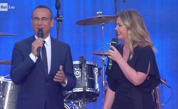 Tornano i Wind Music Awards con Carlo Conti e Vanessa Incontrada