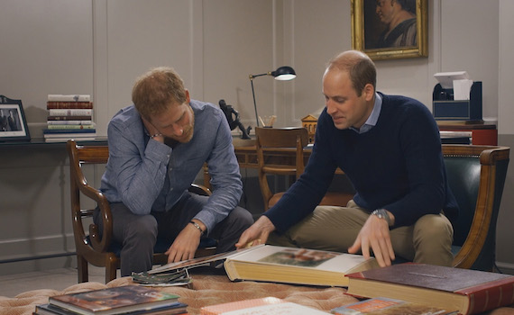 Canale 5: questa sera lo speciale su Diana con William e Harry