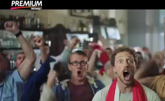 Spot Tv: Mediaset Premium emoziona con il calcio
