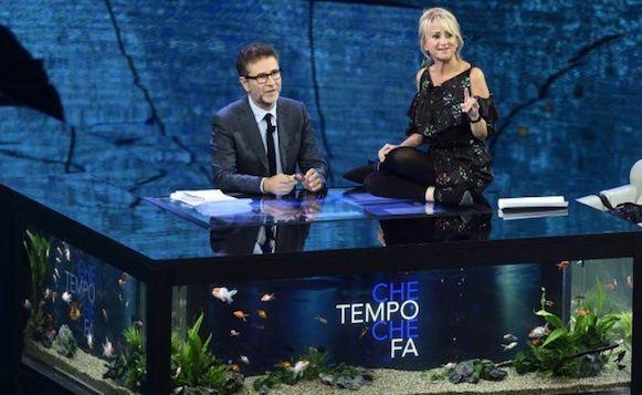 L'Isola Di Pietro batte Fabio Fazio: crolla Che Tempo Che Fa