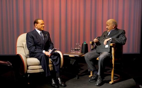 Costanzo e Berlusconi in prima serata su Canale 5