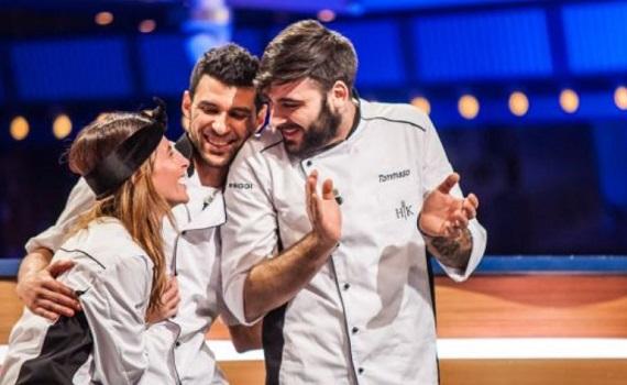 Ascolti Tv 14 novembre digital e pay: Cracco 1,4% con Lorenzo, Mohamed, Tommaso finalisti. Ok Tv8 e Rai4