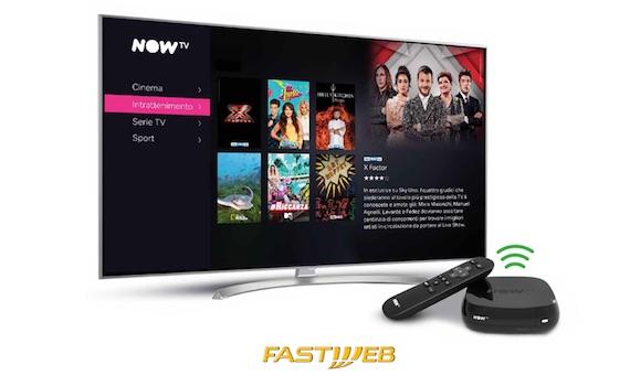 Sky e Fastweb fanno un accordo per Now Tv